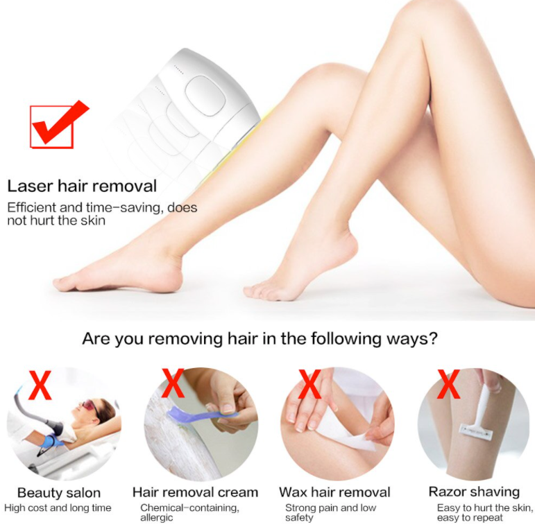 IPL epilator safety