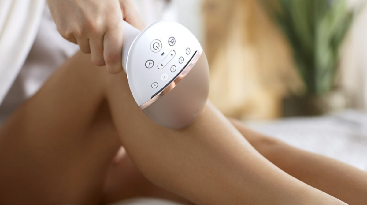 IPL hair removal at home